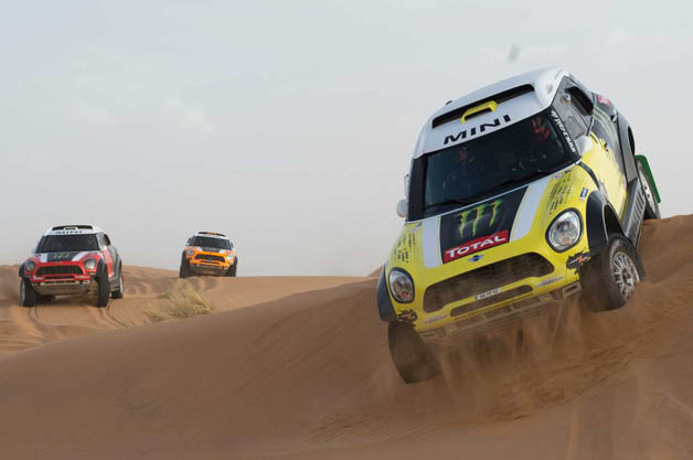 MINIs at the Dakar Rally