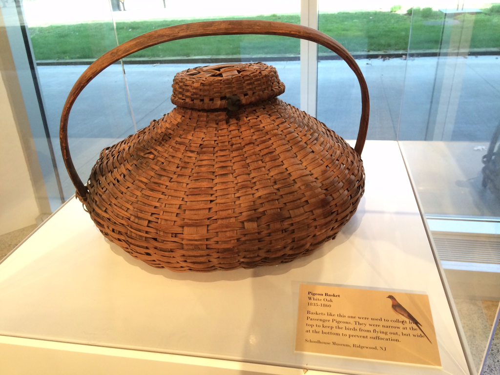 Basket for passenger pigeons, New Jersey State Museum
