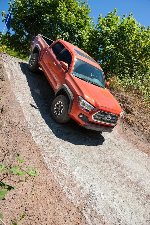 2016 Toyota Tacoma TRD OffRoad QuadCab. Source: Toyota