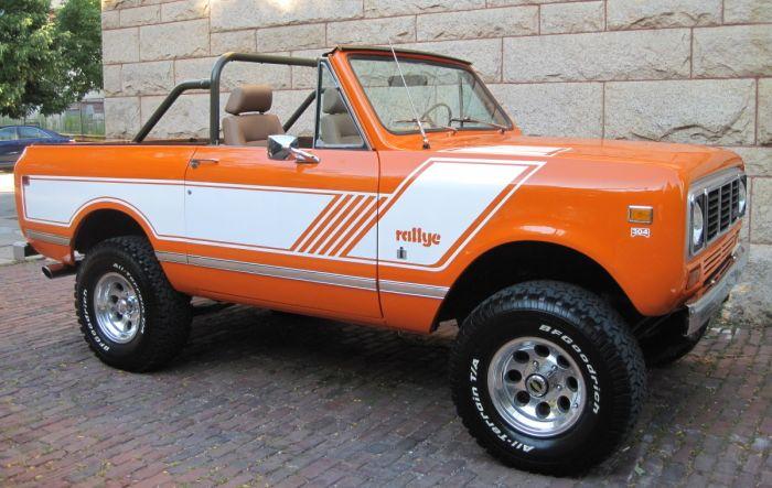 1976 IH Scout II