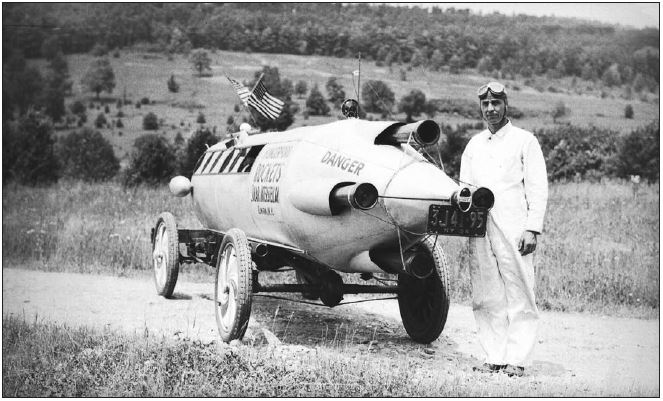 Hungerford Rocket Car