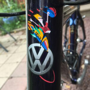 VW Trek Head Tube