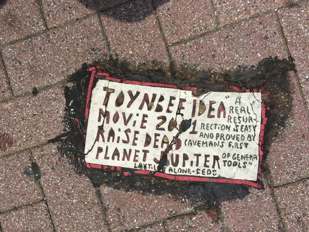 Toynbee Tile, Atlantic City