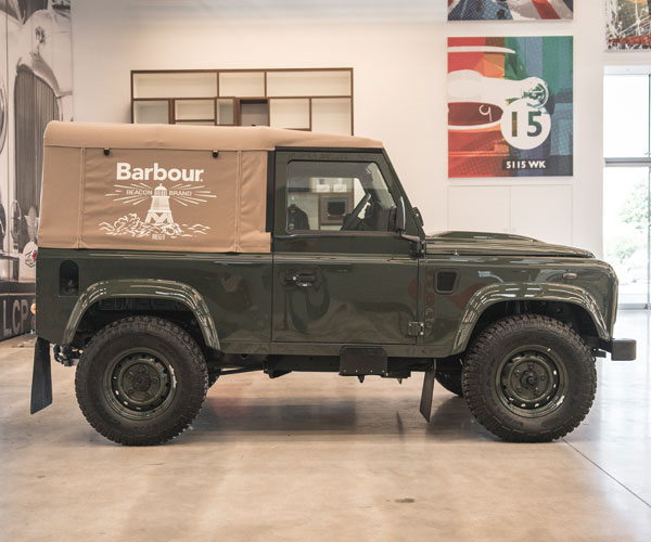 East Coast Vw >> Barbour X Land Rover Defender – Sweepstakes | Lamoka Ledger