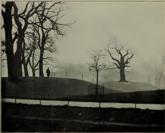 Roman mound n Greenwich Park
