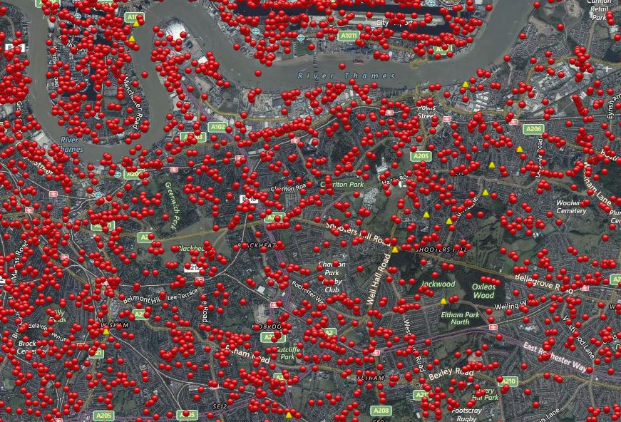 Blitz Bomb Map