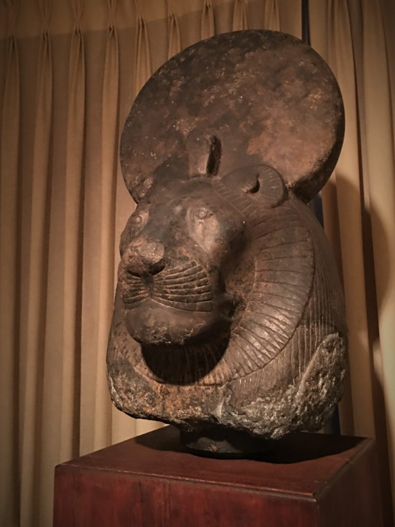 stone head of Sakhmet