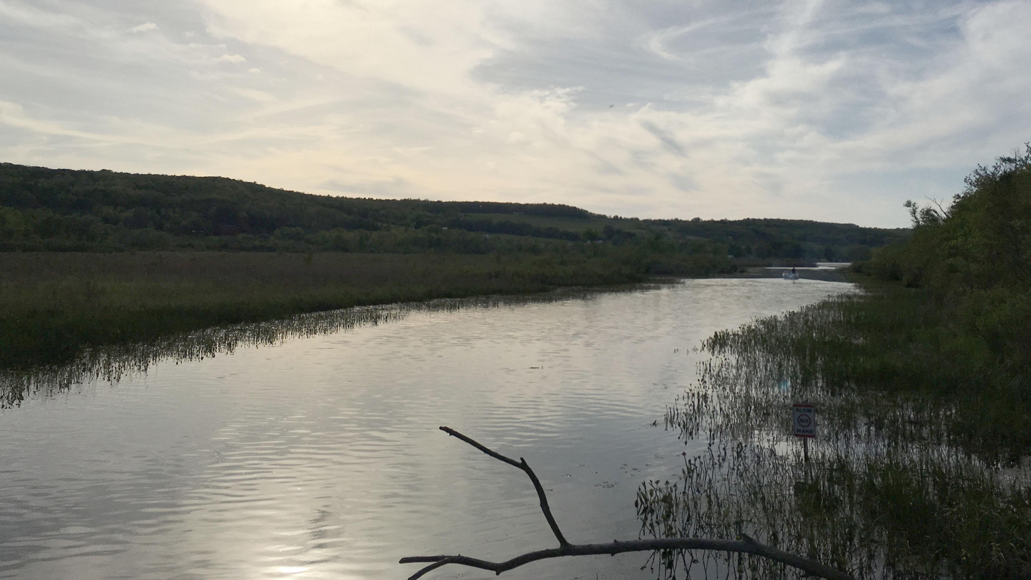 View towards Waneta Lake