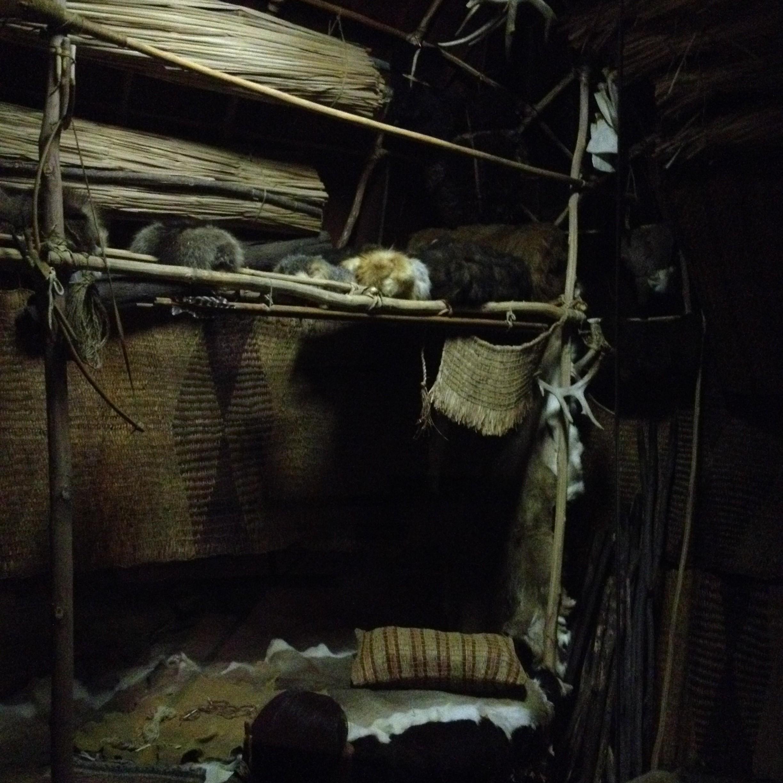 Lamoka diorama interior
