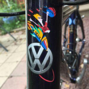 VW Trek Head Tube