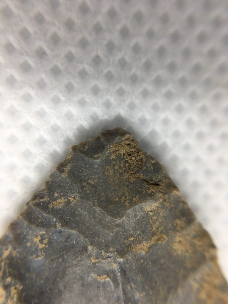 Tip of projectile point