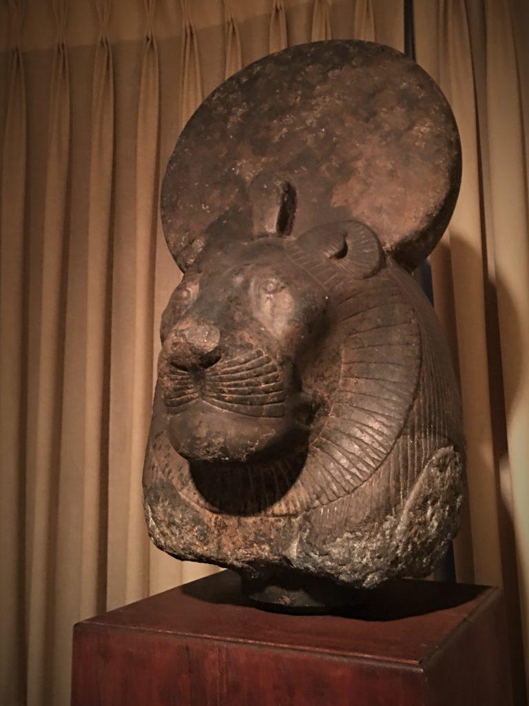stone head of Sakhmet